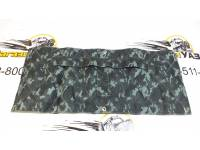 Утеплитель радиатора УАЗ-Хантер омон (серый камуфляж) Прострочка ромбом