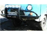 Бампер передний на УАЗ-452 Носорог
