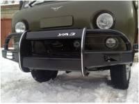 Бампер передний на УАЗ-452 Корсар