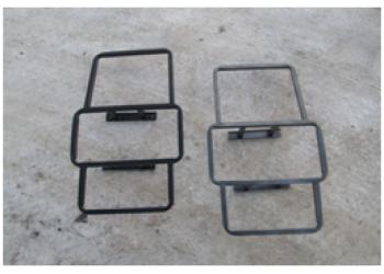 Лестница на УАЗ  Хантер вместо крепления запасного колеса